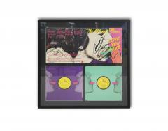 Andy Warhol Cover album by the Rolling Ston created by Andy Warhol With authentic signature - 981500