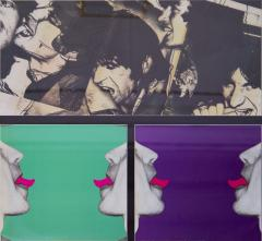 Andy Warhol Cover album by the Rolling Ston created by Andy Warhol With authentic signature - 982020