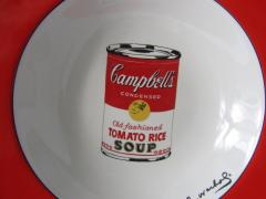 Andy Warhol Set of 24 Place Settings Andy Warhol Campbells Soup Dinnerware - 1170438