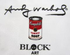 Andy Warhol Set of 24 Place Settings Andy Warhol Campbells Soup Dinnerware - 1170439