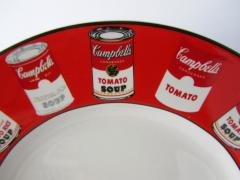 Andy Warhol Set of 24 Place Settings Andy Warhol Campbells Soup Dinnerware - 1170440