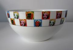 Andy Warhol Set of 24 Place Settings Andy Warhol Some Like It Hot Marilyn Dinnerware - 1169848