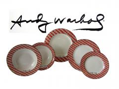 Andy Warhol Set of 24 Place Settings of Andy Warhol 100 Cans Dinnerware - 1170527