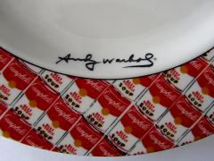 Andy Warhol Set of 24 Place Settings of Andy Warhol 100 Cans Dinnerware - 1170531