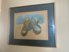 Andy Warhol WARHOL STYLE POP ART WORK BOOTS LITHOGRAPH - 1845660