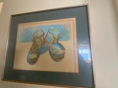 Andy Warhol WARHOL STYLE POP ART WORK BOOTS LITHOGRAPH - 1845665