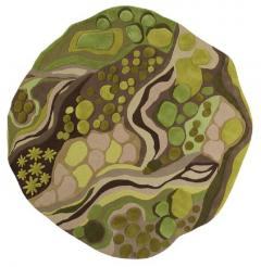 Angela Adams Woodland Forest Moss Rug - 947548
