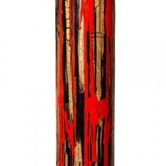 Angelo Brotto 1950S FLOOR LAMP ART ENAMEL ON METAL ACRYLIC SHADE BY ANGELO BROTTO - 1789761
