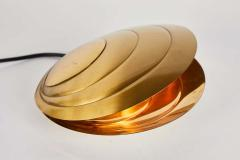 Angelo Brotto 1960s Brass Clamshell Table Lamp by Angelo Brotto - 1565515
