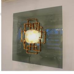 Angelo Brotto A Large Lit Wall Sculpture by Angelo Brotto - 256007