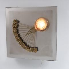 Angelo Brotto Angelo Brotto Sculptural Wall Light for Esperia Italy 1970 - 1141644