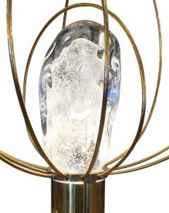 Angelo Brotto Barnaba Brass Table Lamp by Angelo Brotto for Esperia - 173585