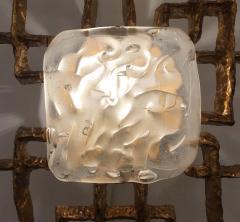 Angelo Brotto Large Fantasia Notturna Wall Light by Esperia - 418140