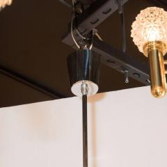 Angelo Brotto Mid Century Modernist Murano Glass Chandelier by Angelo Brotto for Esperia - 1460090