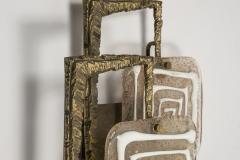 Angelo Brotto Pair of Bronze and Murano glass Sconces by Angelo Brotto - 1231739