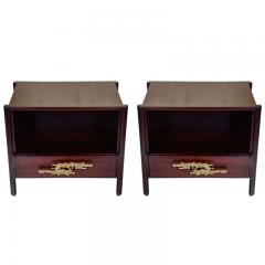 Angelo Brotto Pair of side tables attributed to Angelo Brotto - 717948
