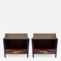 Angelo Brotto Pair of side tables attributed to Angelo Brotto - 718941