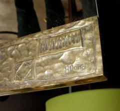 Angelo Brotto Rare1970 bronze mirror by Angelo Brotto - 855576