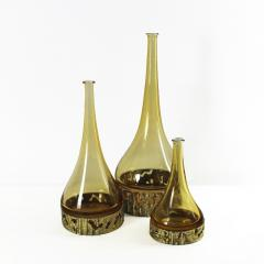 Angelo Brotto SET OF THREE MURANO BOTTLES BY ANGELO BROTTO - 1575419