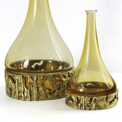 Angelo Brotto SET OF THREE MURANO BOTTLES BY ANGELO BROTTO - 1575421