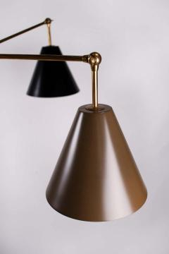 Angelo Lelii Lelli Arredoluce Triennale Brass Floor Lamp Designed by Angelo Lelii Model 12128 - 1546373