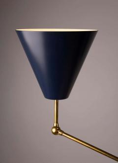 Angelo Lelii Lelli Arredoluce Triennale Brass Floor Lamp Designed by Angelo Lelii Model 12128 - 1546378