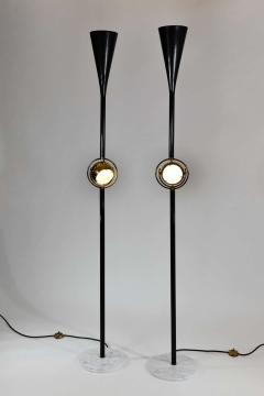 Angelo Lelii Lelli Rare Pair of Polifemo floor lamps - 1147457
