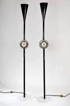 Angelo Lelii Lelli Rare Pair of Polifemo floor lamps - 1147460