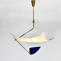 Angelo Lelii Lelli Rare chandelier Model 12385 - 910343