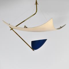 Angelo Lelii Lelli Rare chandelier Model 12385 - 910344