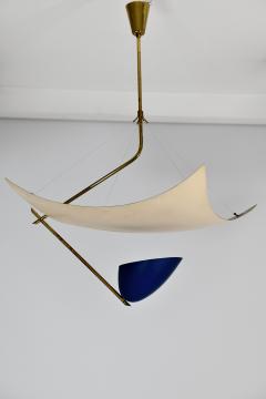 Angelo Lelii Lelli Rare chandelier Model 12385 - 910345
