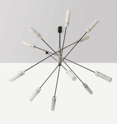Angelo Lelii Lelli Rare sputnik chandelier - 1147464