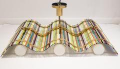 Angelo Lelli Angelo Lelli Wave Shaped Pendant Fixture for Arredoluce - 585432