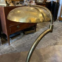 Angelo Lelli Lelii 1950s Angelo Lelii Style Mid Century Modern Solid Brass Italian Table Lamp - 2107913