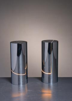 Angelo Lelli Lelii Pair of Table Lamps by Angelo Lelli for Arredoluce - 2052845