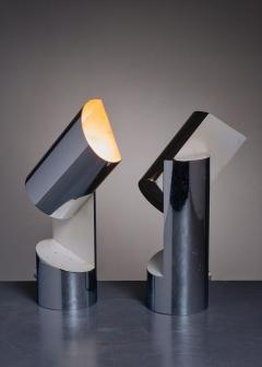 Angelo Lelli Lelii Pair of Table Lamps by Angelo Lelli for Arredoluce - 2052846