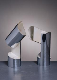 Angelo Lelli Lelii Pair of Table Lamps by Angelo Lelli for Arredoluce - 2052847