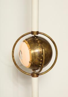 Angelo Lelli Lelii RARE STANDING LAMP POLIFEMO BY ANGELO LELII FOR ARREDOLUCE - 1700229