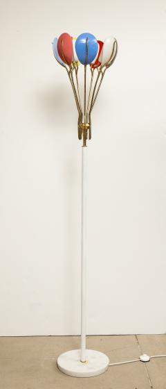 Angelo Lelli Lelii Rare Floor Lamp 12477 by Angelo Lelii for Arredoluce - 1253131