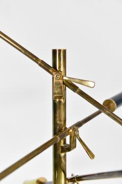 Angelo Lelli Lelii Triennale Floor lamp in brass - 1789812