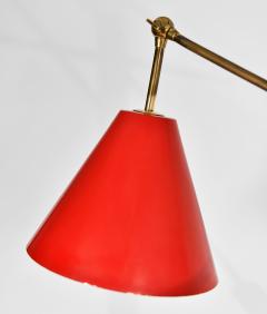 Angelo Lelli Lelii Triennale Floor lamp in brass - 1789816