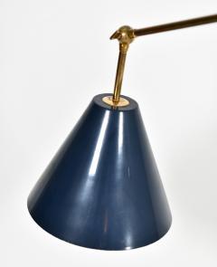 Angelo Lelli Lelii Triennale Floor lamp in brass - 1789822