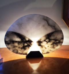Angelo Mangiarotti 1980s Alabaster Table Lamp by A Mangiarotti - 252483