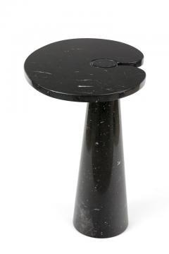 Angelo Mangiarotti Angelo Mangiarotti Black Marquina Marble Eros Side Table for Skipper Italy - 1935612