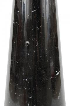 Angelo Mangiarotti Angelo Mangiarotti Black Marquina Marble Eros Side Table for Skipper Italy - 1935617