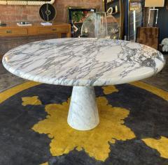 Angelo Mangiarotti Angelo Mangiarotti Marble Round Dining Table 1970s - 2010260
