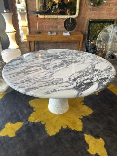 Angelo Mangiarotti Angelo Mangiarotti Marble Round Dining Table 1970s - 2010265