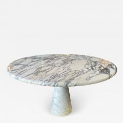 Angelo Mangiarotti Angelo Mangiarotti Marble Round Dining Table 1970s - 2011154