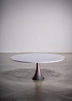 Angelo Mangiarotti Angelo Mangiarotti bronze and marble coffee table for Bernini - 1951753
