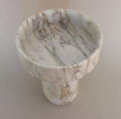 Angelo Mangiarotti Angelo Mangiarotti for Knoll Calacutta Marble Vase - 2138212